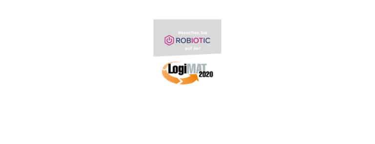 Robiotic Logo und LogiMAT Logo