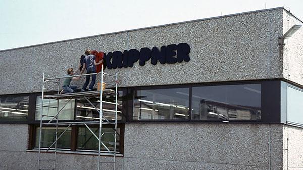 altes Firmengebäude von Hoffmann + Krippner