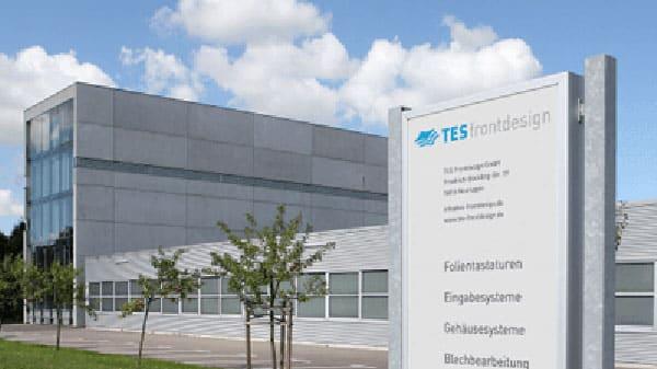 Firmengebäude Firma TES Frontdesign