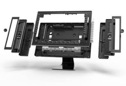 3D-Grafik einer Telefonanlage