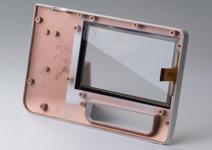 Kunststoffgehäuse mit EMV-Beschichtung