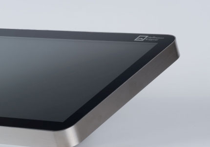 Touchsystem mit Edelstahl-Gehäuse