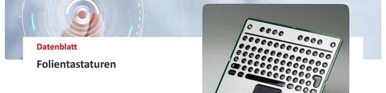 H+K - Datenblatt-Folientastaturen