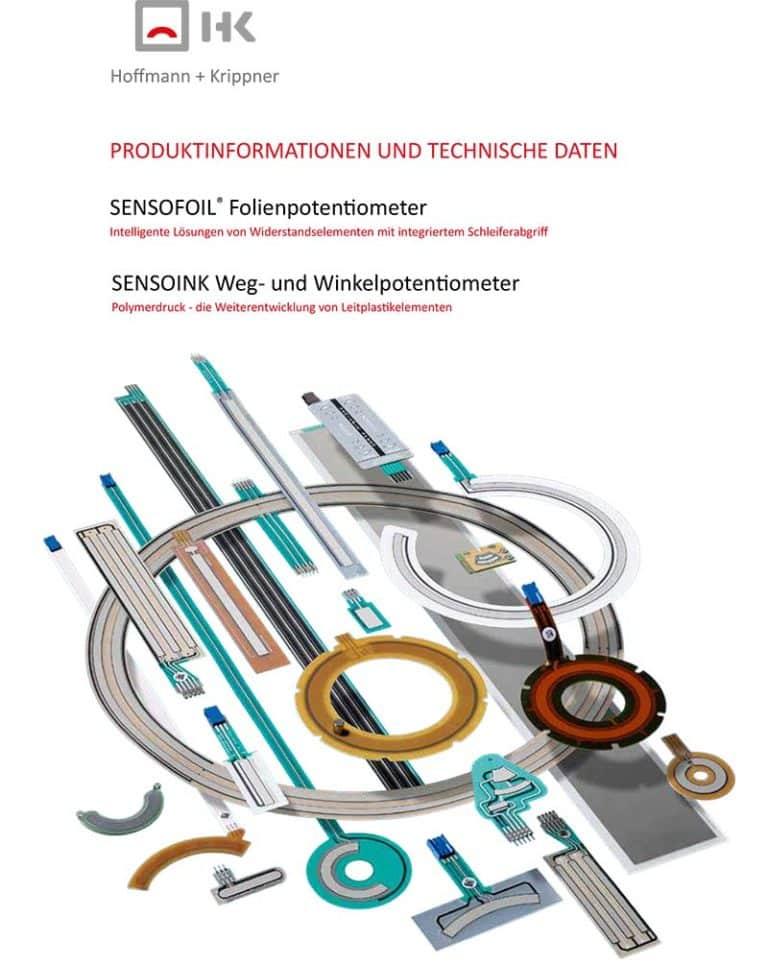 Titelblatt Sensofoil Produktinfo