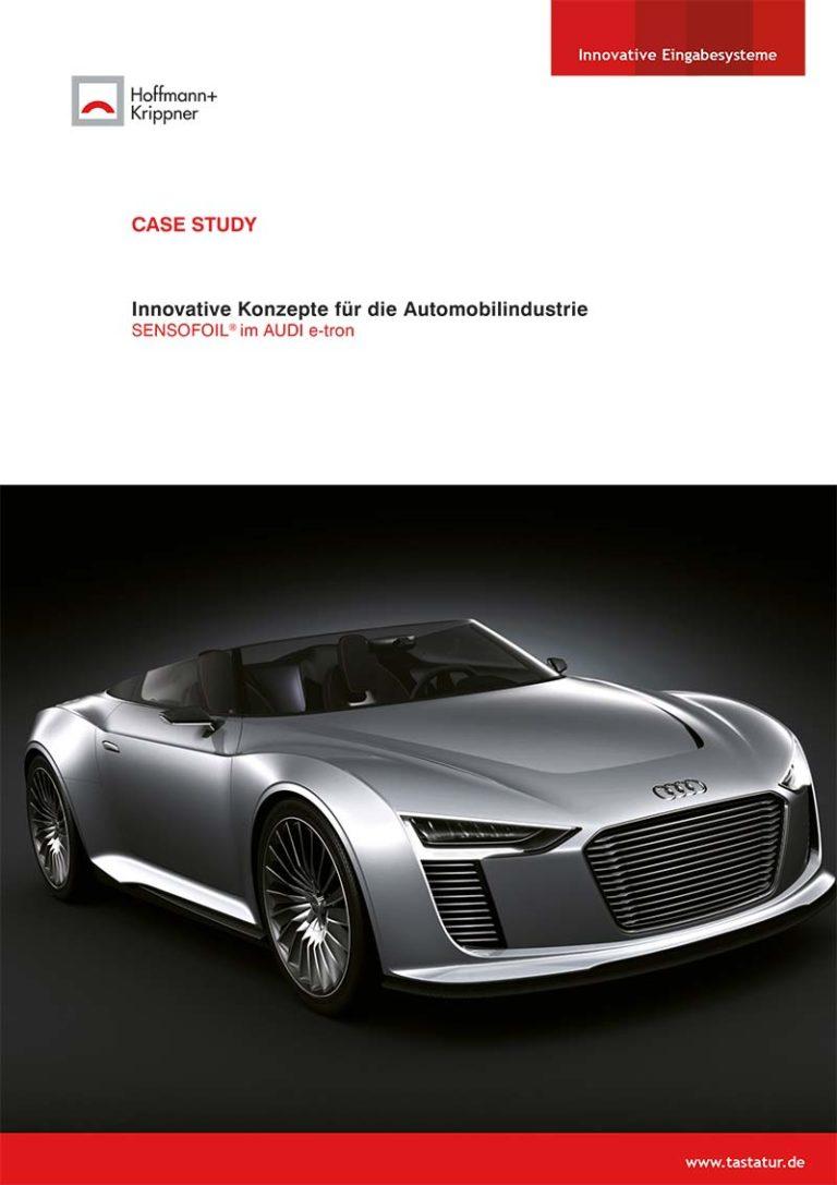 Titelblatt Case Study Audi
