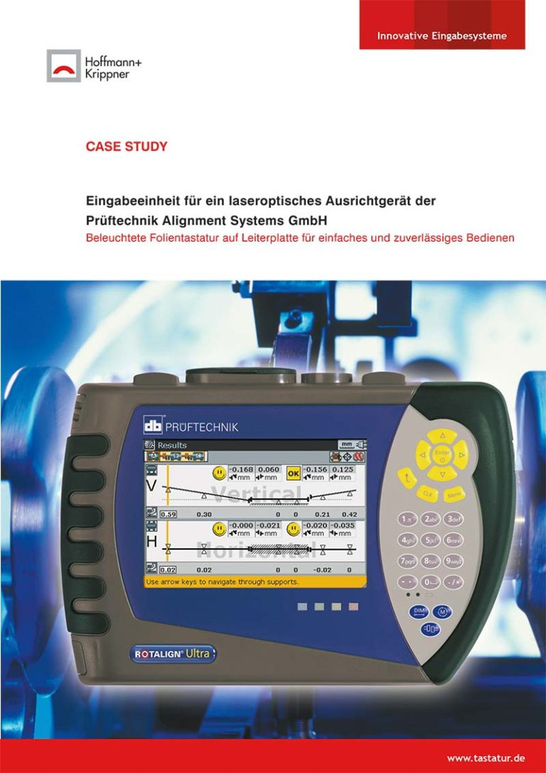 Titelblatt Case Study Prüftechnik