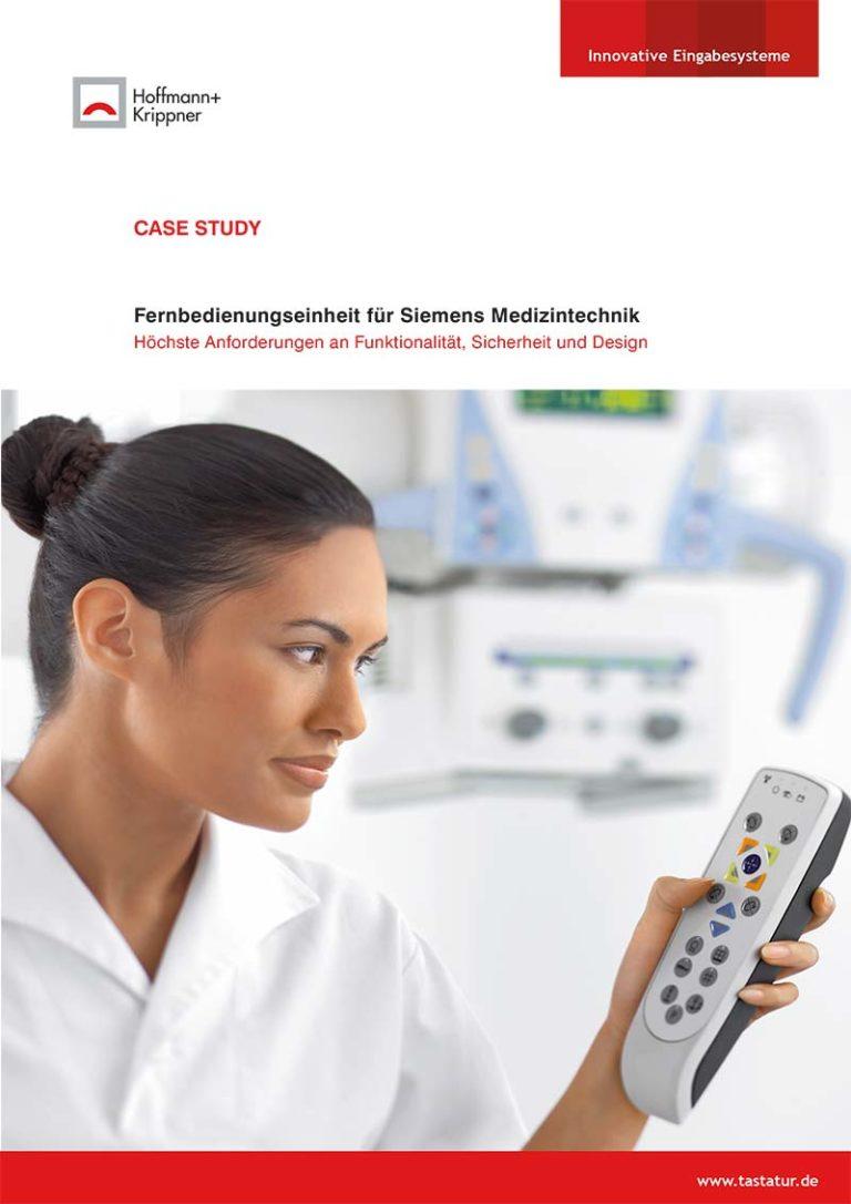 Titelblatt Case Study Siemens Fernbedienung