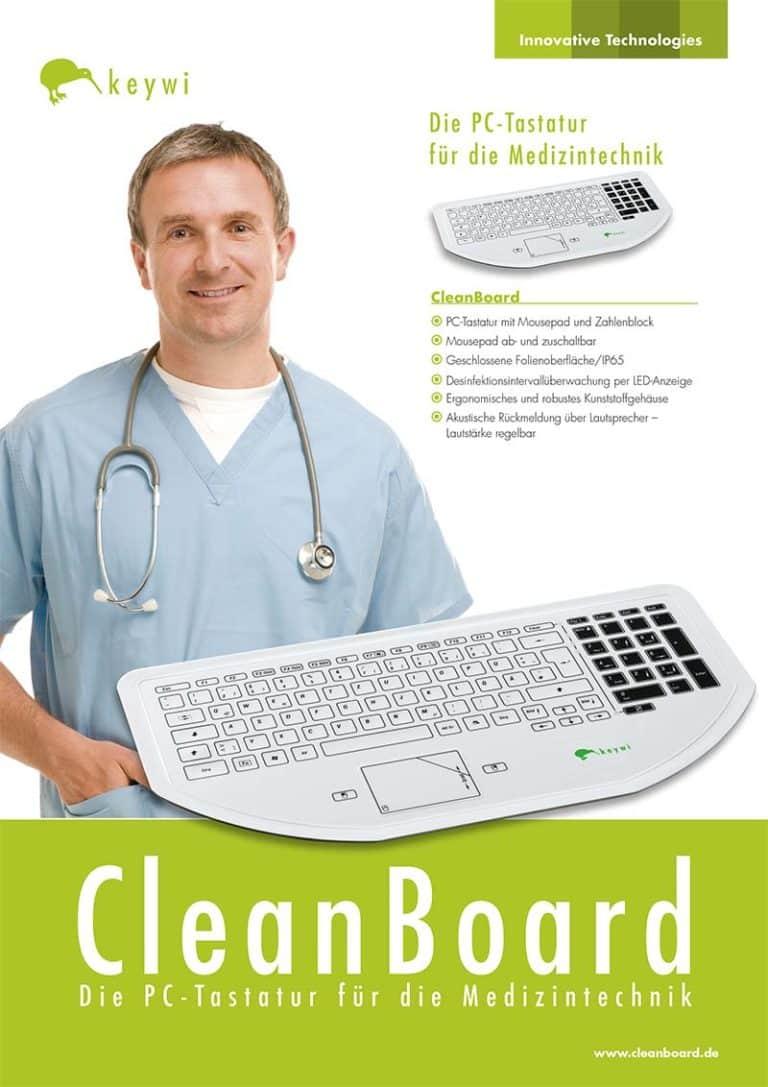 Datenblatt CleanBoard