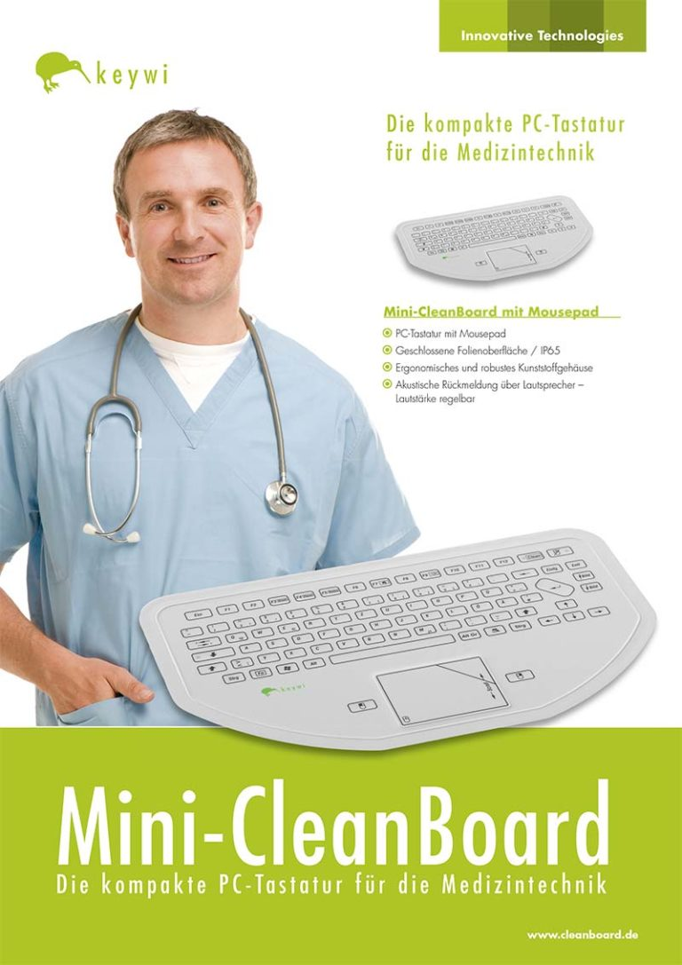 Datenblatt Mini-CleanBoard