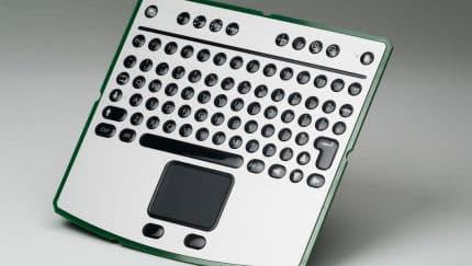 Folientastatur mit Mauspad auf Leiterplatte