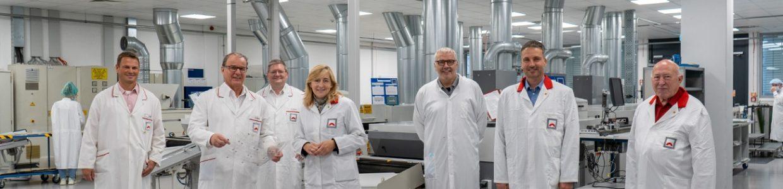 H+K - Buchen (30.08.21) – MdB Nina Warken (CDU) zu Besuch bei Hoffmann+Krippner