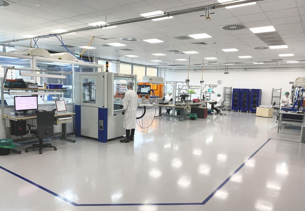 Optical Boning Produktion bei Hoffmann + Krippner