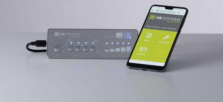 Hoffmann + Krippner Bedienfront mit NFC-Technologie und App