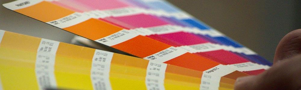 Hoffmann + Krippner Siebdruck - Farbfächer